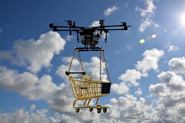 УРОЖАЙ В НЕБЕ: сельдерей в Китай собирают дроны
