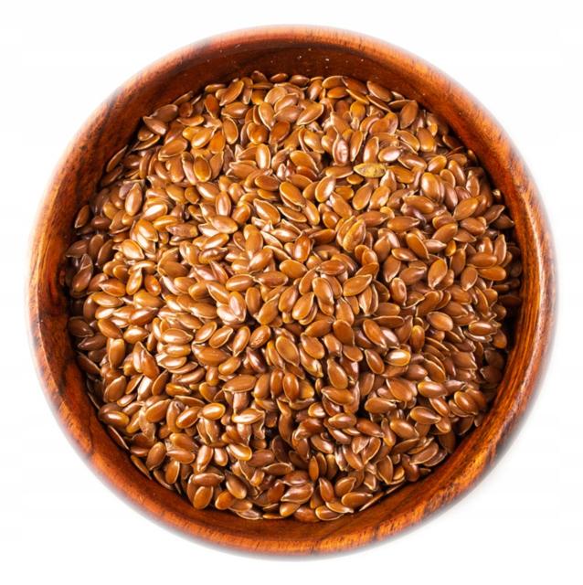 Семена льна коричневого