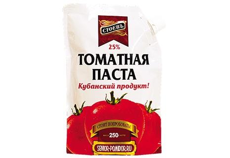 Томатная паста «Стоевъ»