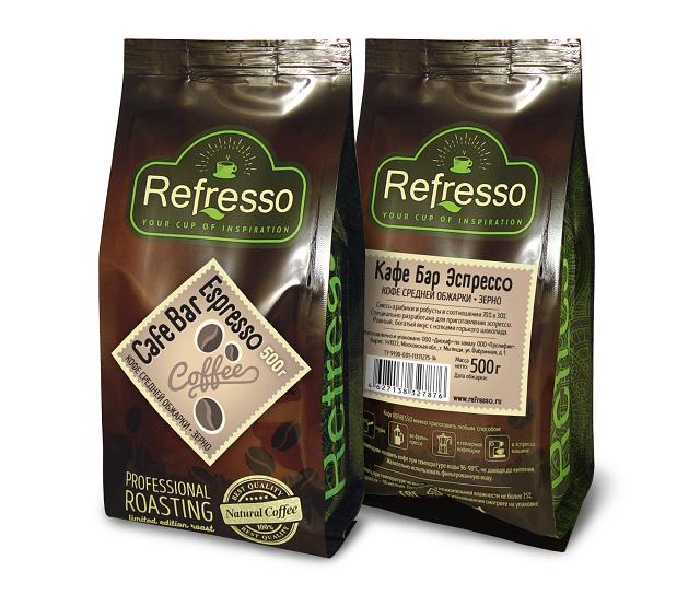 Cafe Bar Espresso 500 гр Зерно