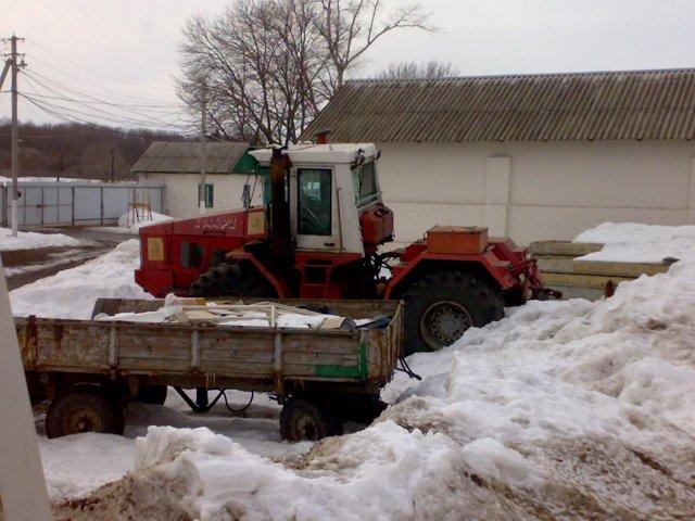 Кировец К 744 Р2 2006 года выпуска под Восстановления