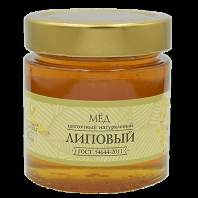 Мёд натуральный «Липовый» (240гр.)