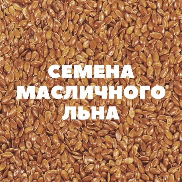 семена масличного льна на посев
