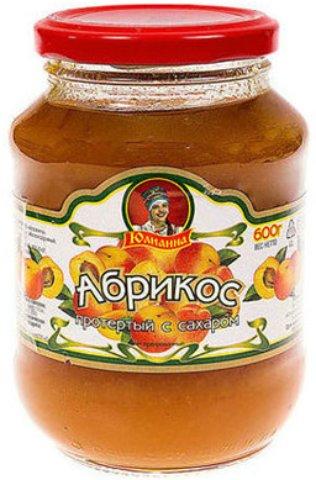 Протертый абрикос с сахаром ГОСТ Юлианна