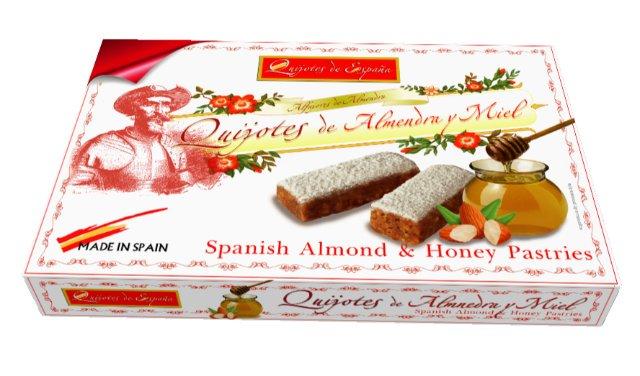 Печенье QUIJOTES DE ALMENDRA Y MIEL