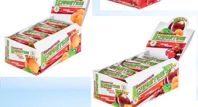 Батончик фруктовый с L-Карнитином