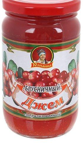 Джем Юлианна Брусничный ГОСТ 430г