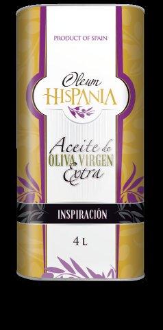 Extra Virgin Olive Oil Aceite de Oliva Virgen Extra GAMA INSPIRACIÓN Оливковое масло.