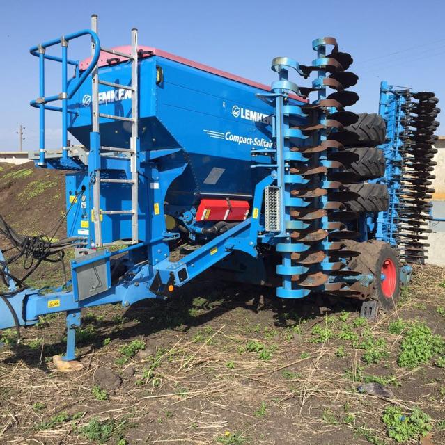 Сеялка Зерновая LEMKEN Compakt Solitair