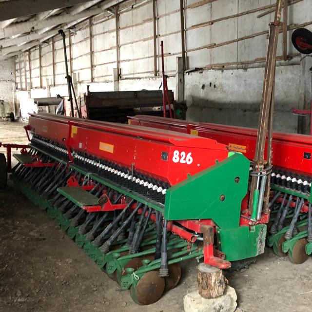 Сеялка Зерновая Русь 6 метровая