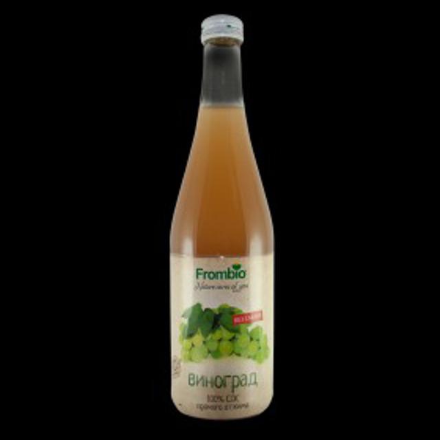 Виноградный Сок 100% Frombio 510 Мл