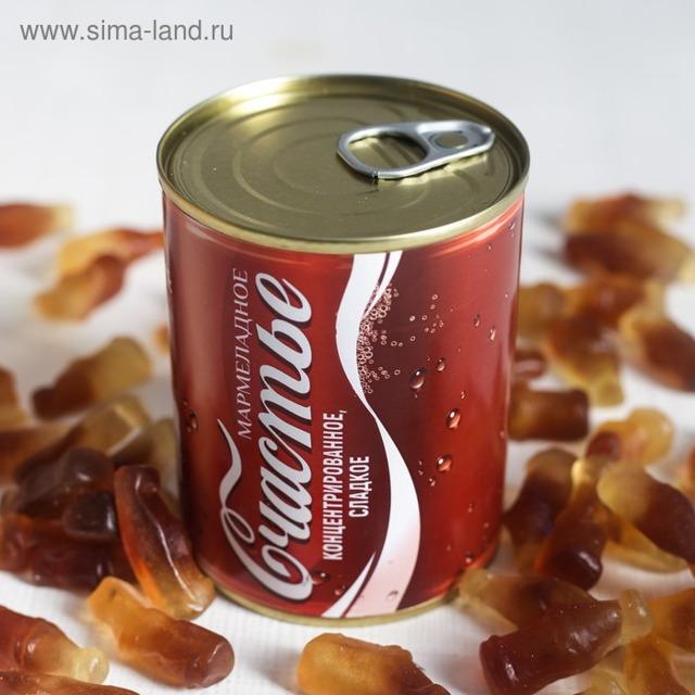 "Мармелад в консервной банке ""Кола"", 200 г"