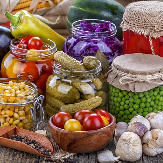 Консервация овощная