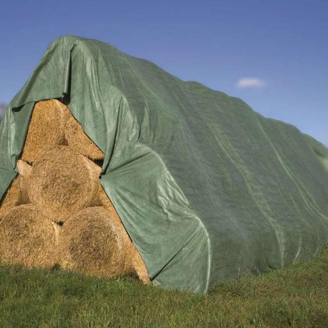 Флис для укрытия соломы/сена