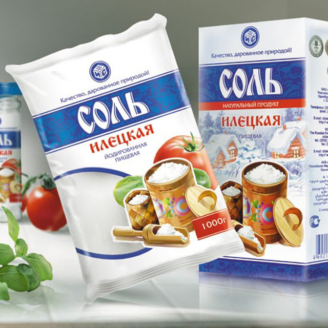 Соль пищевая фасованная, весовая