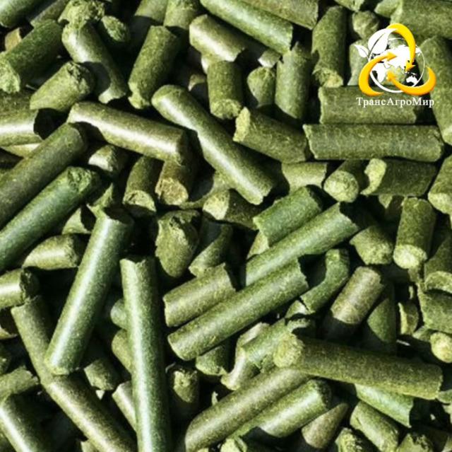 Люцерна гранулированная (травяная мука)
