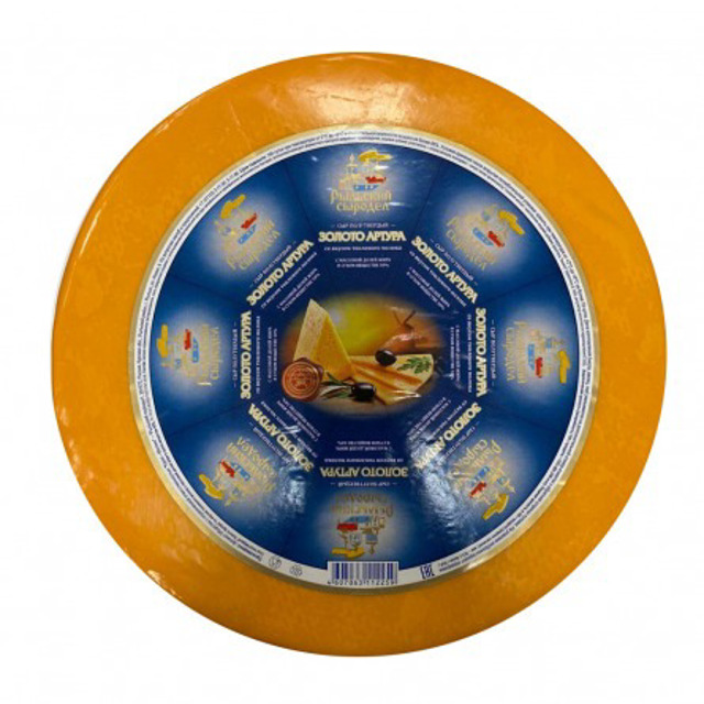 Золото артура сыр круг 50% 7,5кг