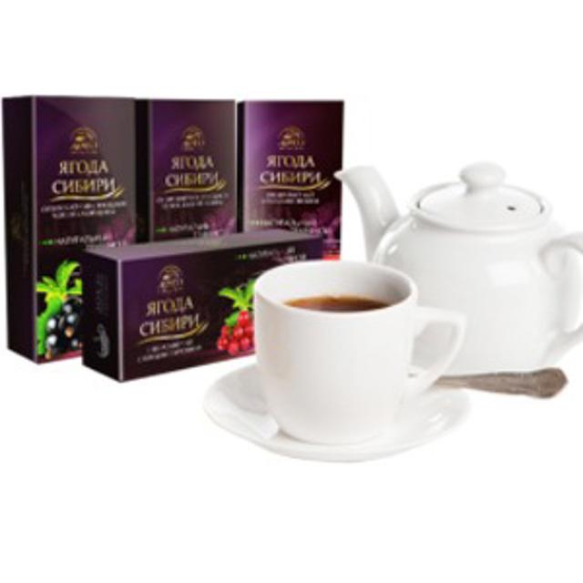 Чайные напитки «Ягода Сибири» Оптом