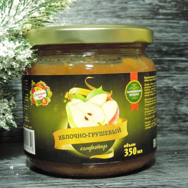 Конфитюр яблочно-грушевый