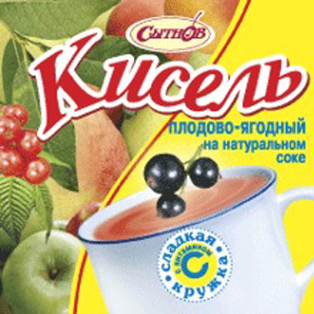 Пплодово-ягодный — кисель концентрат в брикете