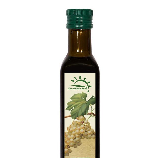 Масло виноградной косточки, рафинированное 0,25 л