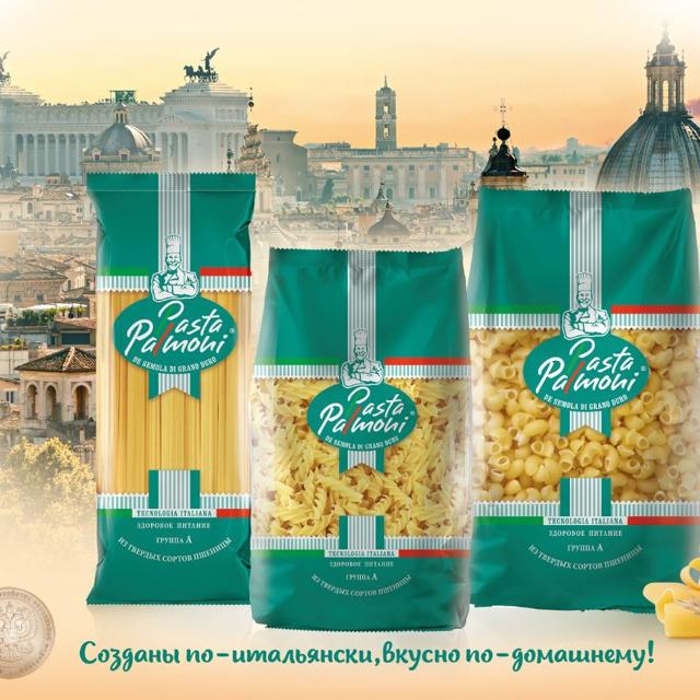 """Макаронные изделия тм """"Pasta Palmoni"""" в ассортименте"""