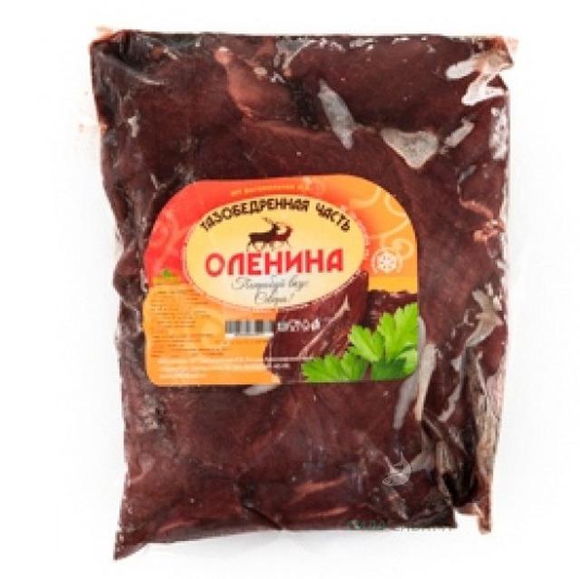 Оленина тазобедренная часть 4-5 кг/упаковка