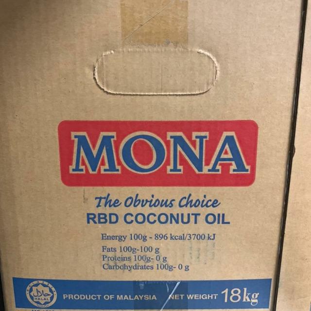 Кокосовое масло MONA