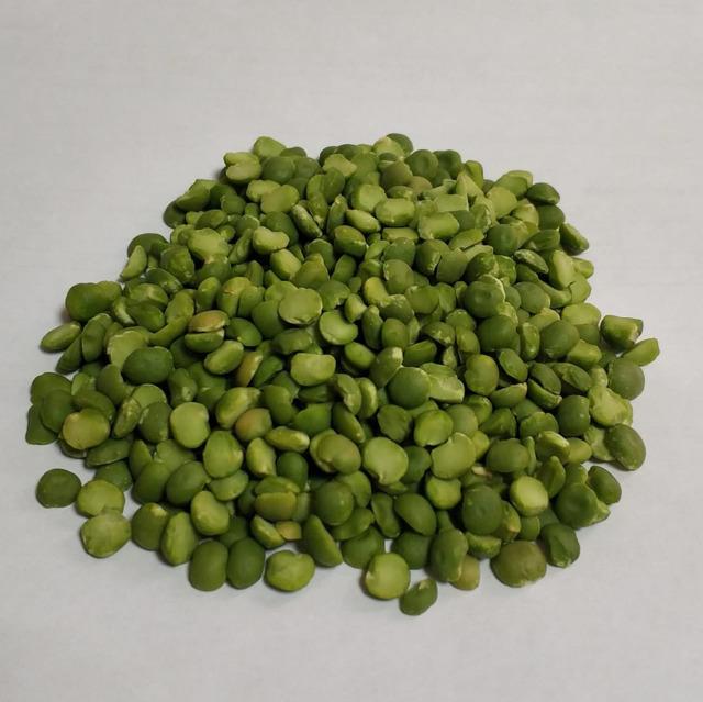 горох зеленый сухой шлифованный