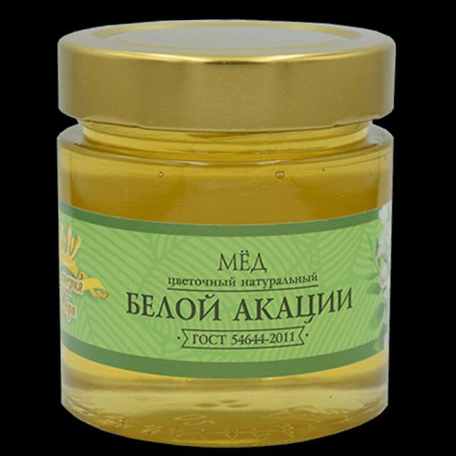 Мёд натуральный «Белая Акация» (240гр.)