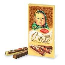 Шоколад Алёнка в стиках с Молочной начинкой