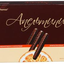 """Мармелад Ударница в шоколаде """"Апельсиновые палочки Апель"""
